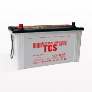 Electric vehicle car battery dry charged lead acid battery DRY 58827