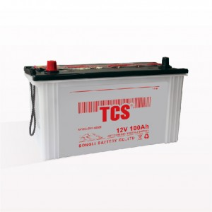 Electric vehicle car battery dry charged lead acid battery DRY 60038