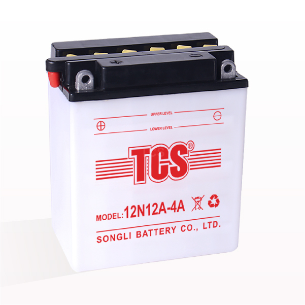 Motorcycle battery dry charged TCS 12N12A-4A