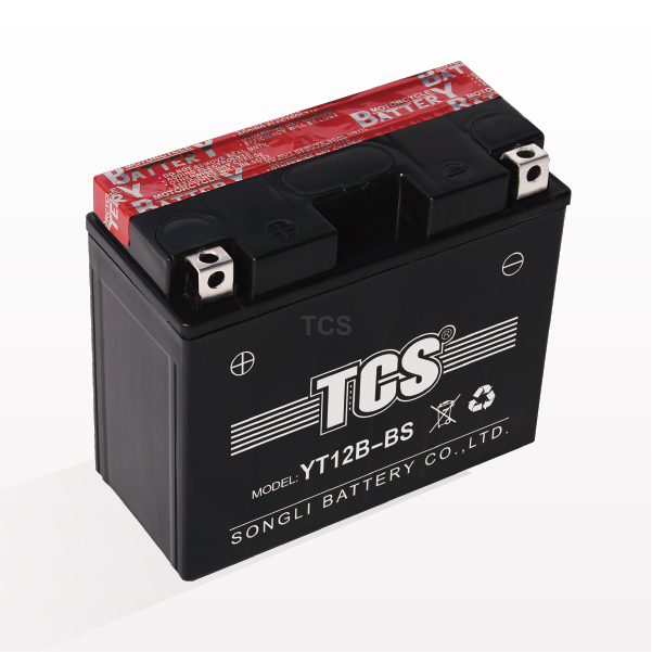 Motorcycle battery VRLA maintenance free YT12B-BS