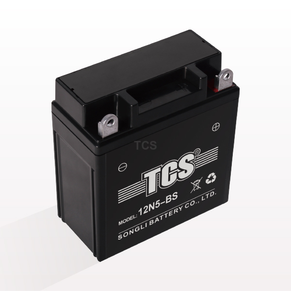 TCS sealed maintenance free battery for motorcycle 12N5-BS