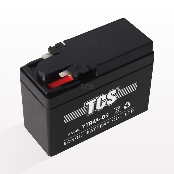 TCS sealed maintenance free battery for motorbike YTR4A-BS
