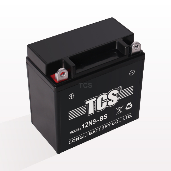 Motorcycle battery sealed maintenance free lead acid battery TCS 12N9-BS Featured Image