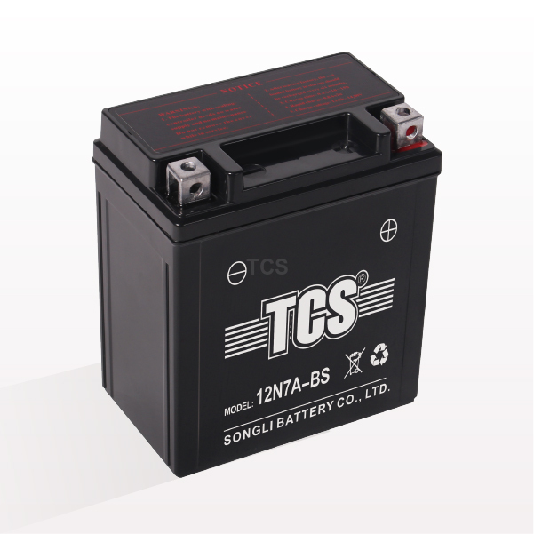 TCS sealed maintenance free battery for motorcycle 12N7A-BS Featured Image