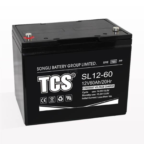 Storage battery middle size battery SL12-60