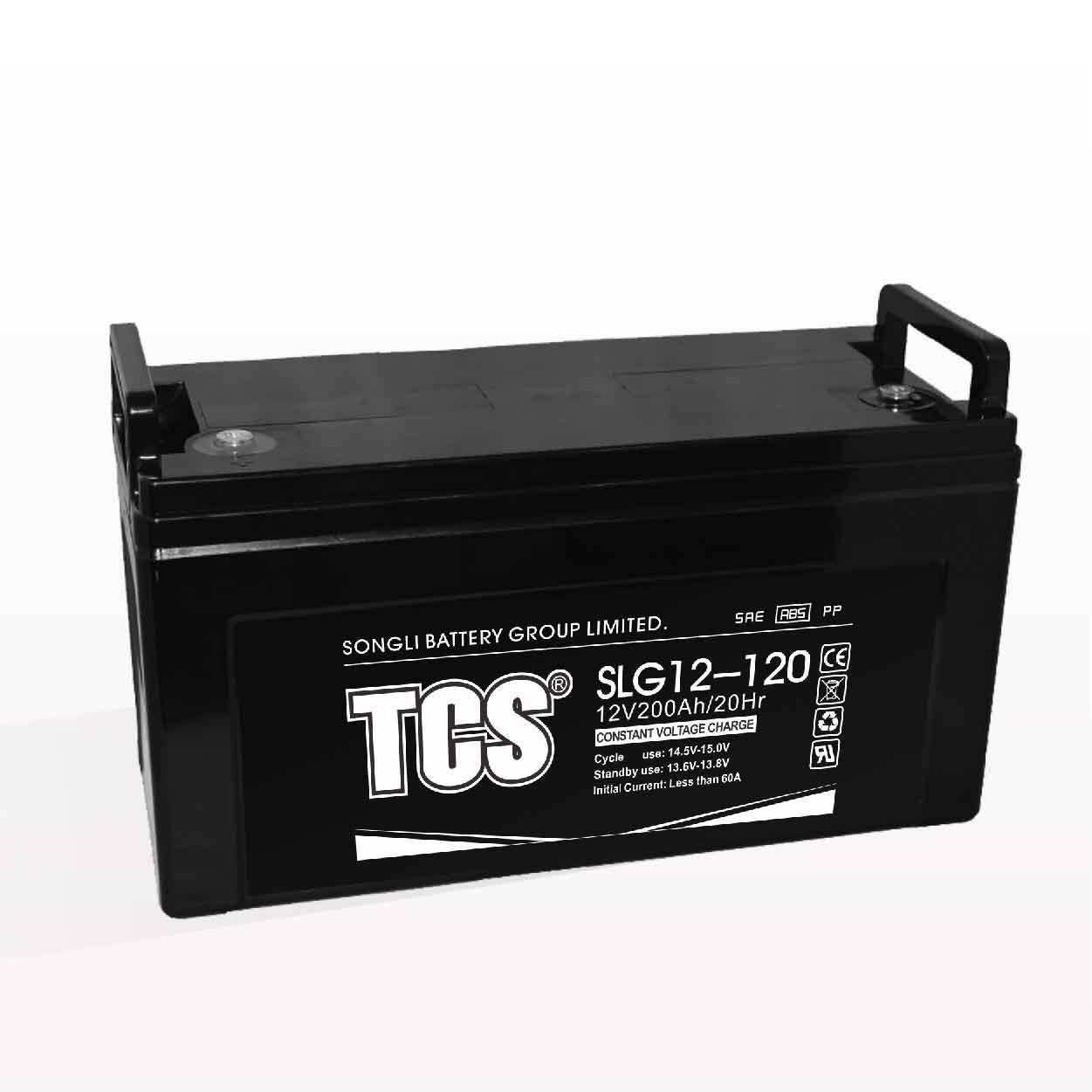 Storage battery gel battery