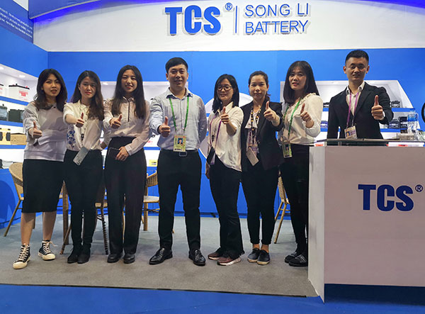 Songli Bbattery had a successful ending in 125th Canton Fair