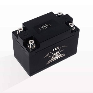 Startmotorbatterij lithium met display 12V T3