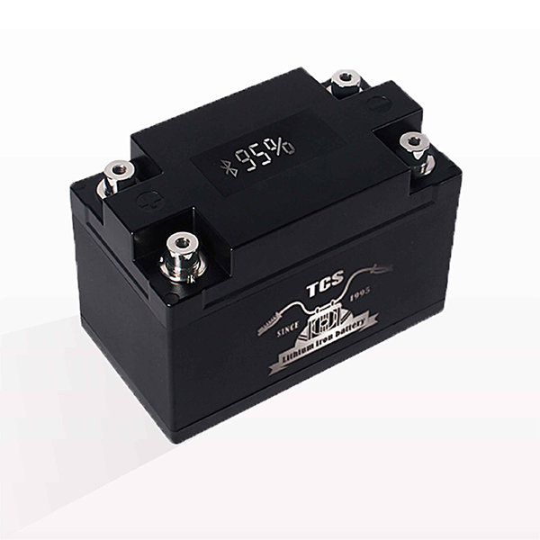 Startup motorcycle battery lithium with display 12V T3 Featured Image