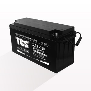Storage battery middle size battery SL12-150