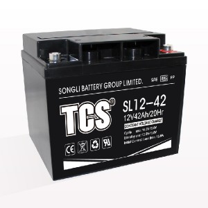 Storage battery middle size battery SL12-42