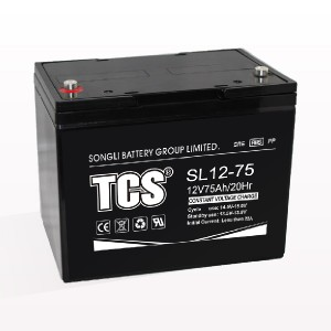 Storage battery middle size battery SL12-75