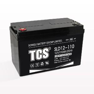 Chuqur tsiklli akkumulyator batareyasi qo'rg'oshin kislotali akkumulyator SLD12-110