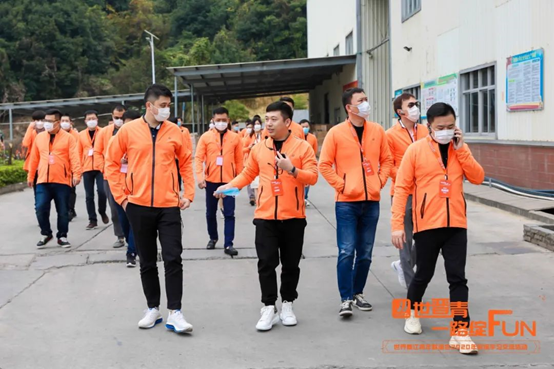 The World of Jinjiang Youth Association visited Songli Battery Factory